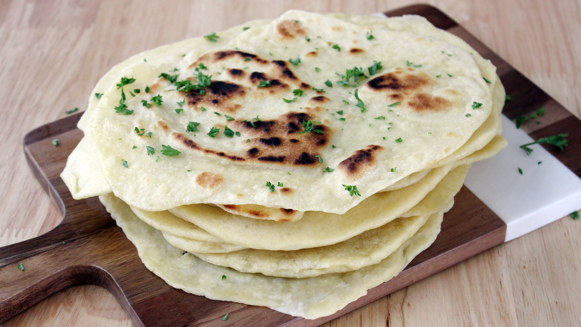 Naan (Pão Indiano)