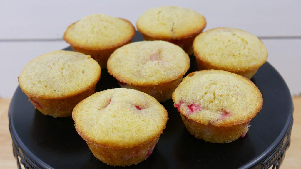Mini Muffins de Morango