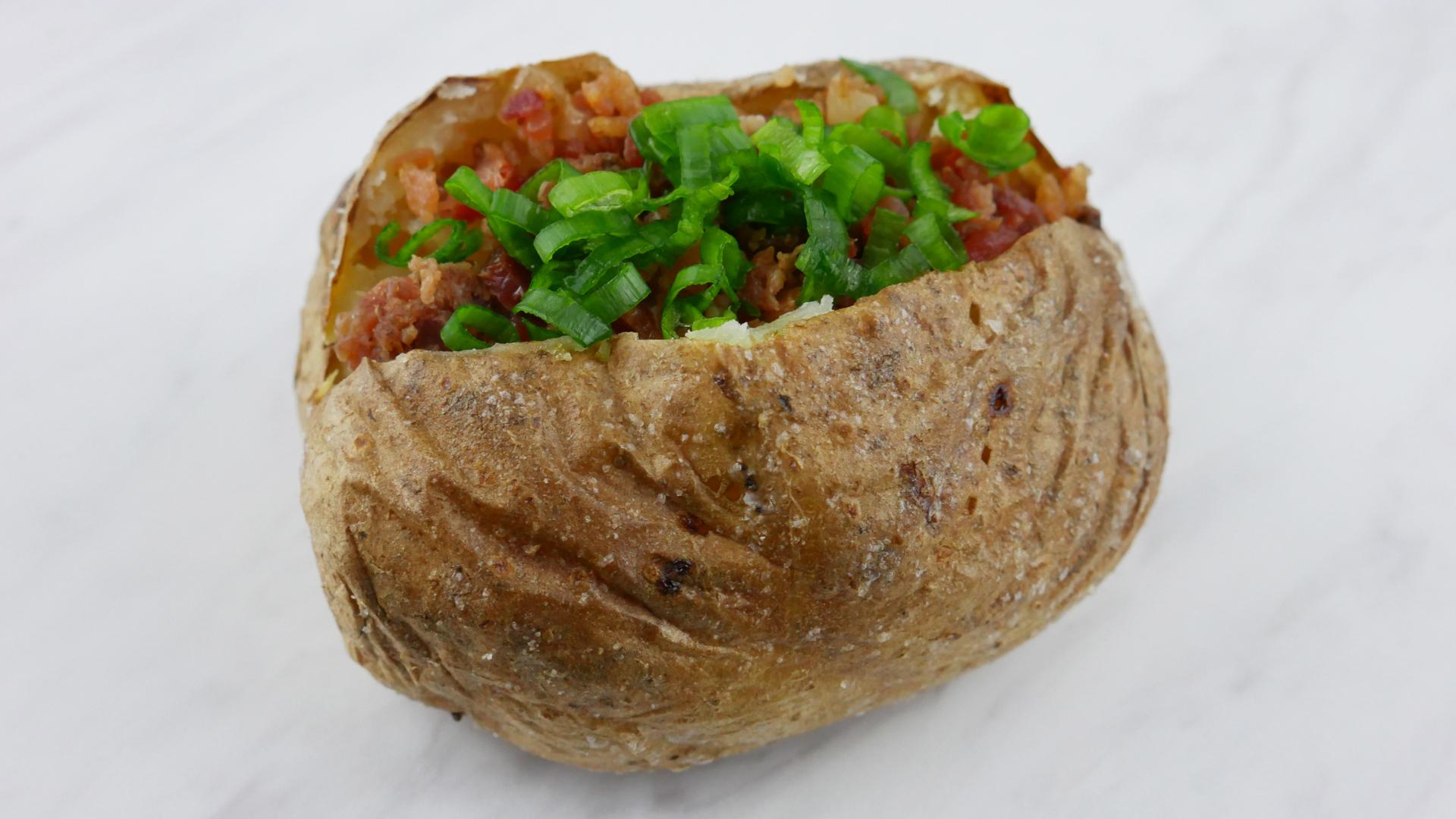 Batata Assada Recheada (Baked Potato)