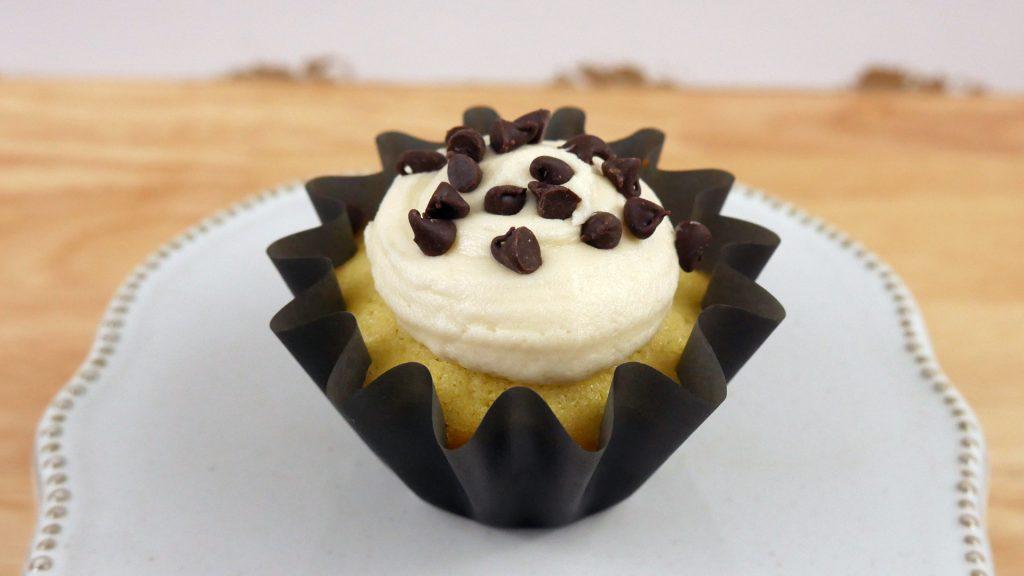 Cupcakes de Chocolate Chip Cookies