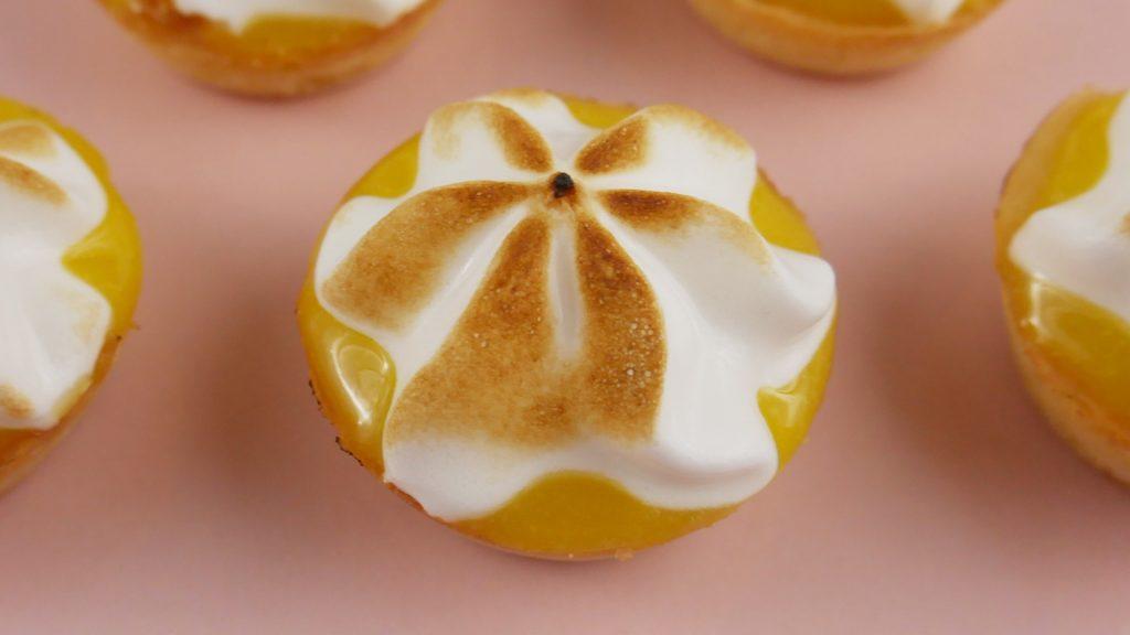Tortinhas de Limão com Merengue