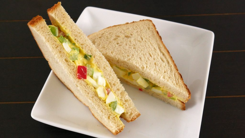 Sanduíche de Salada de Ovo