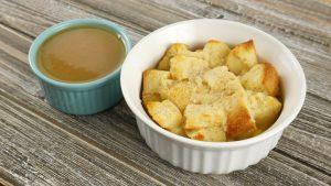 Pudim Americano de Pão (Bread Pudding)