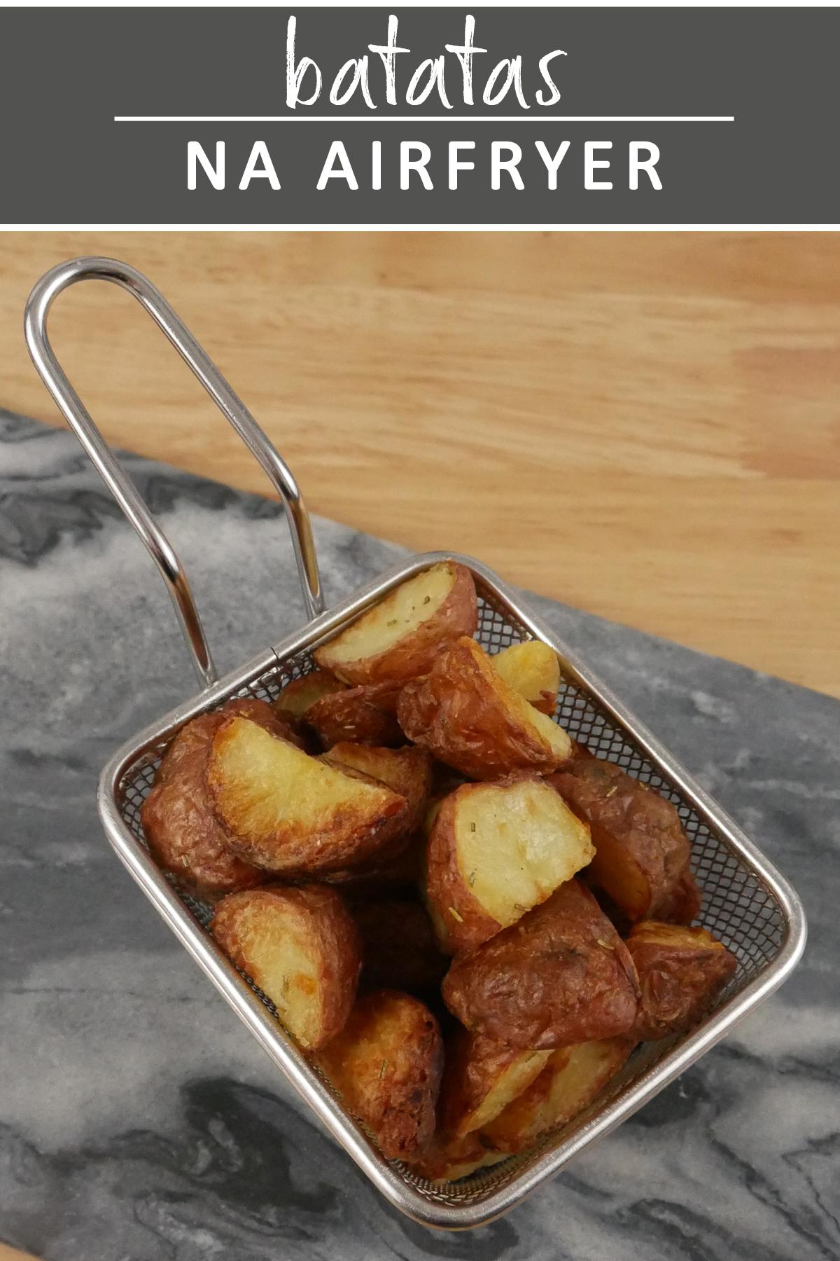 Batatas na AirFryer