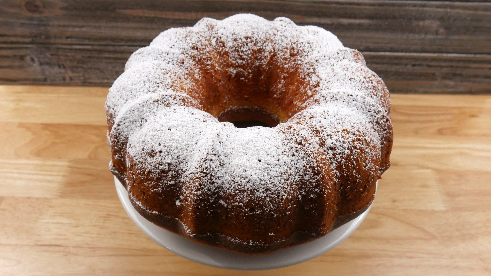 Pound Cake de Cream Cheese