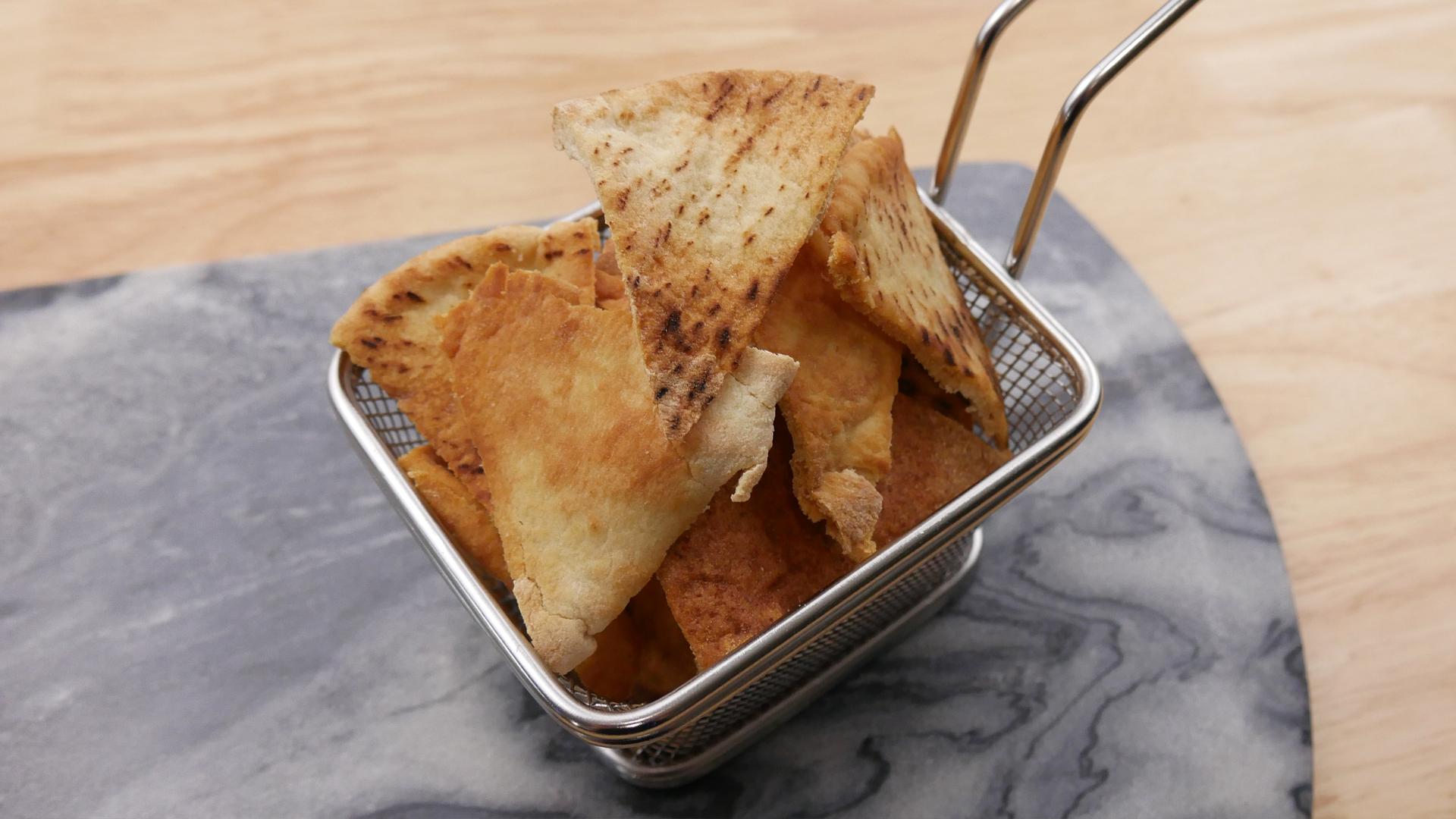 Chips de Pão Sírio