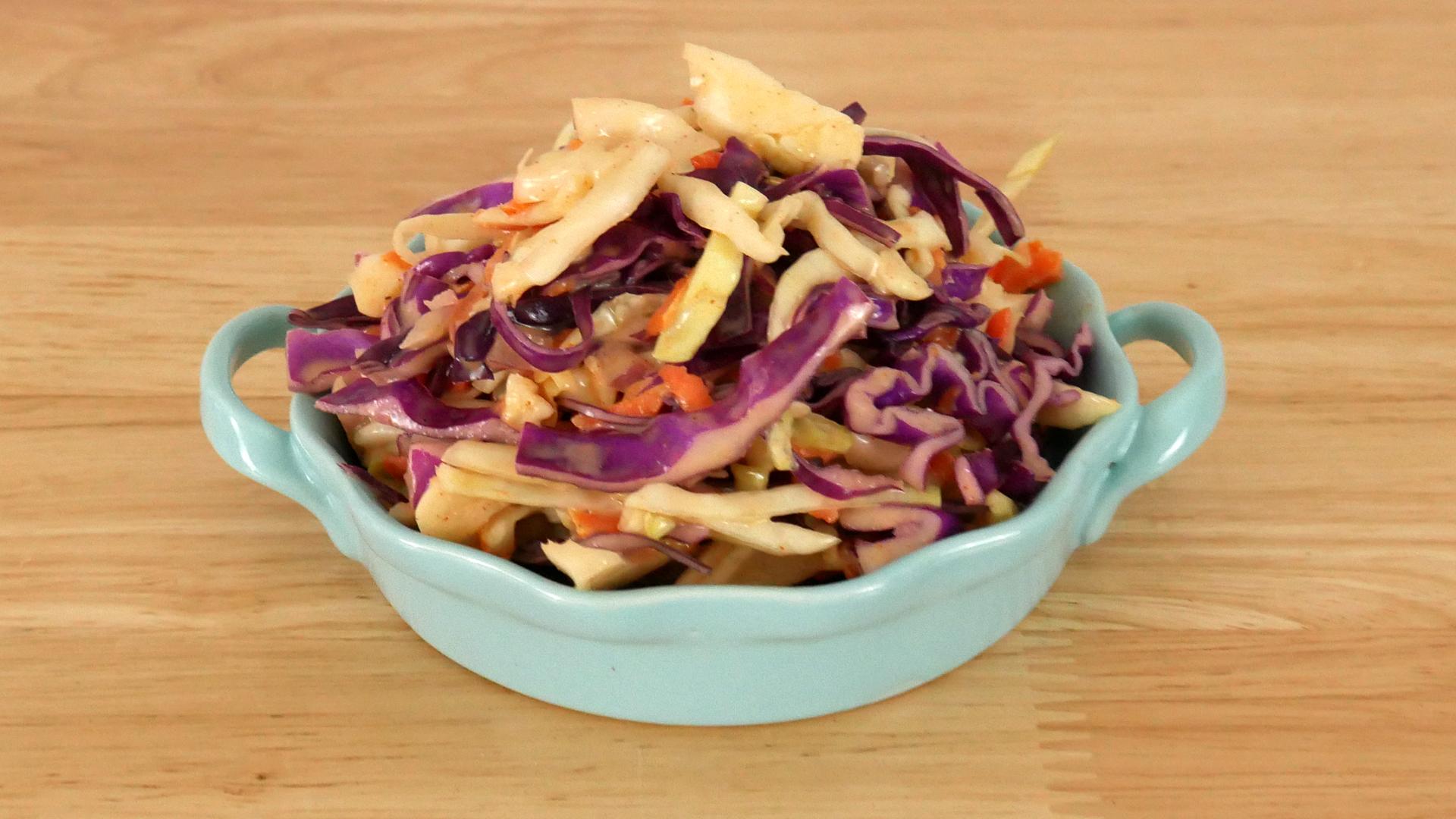 Salada de Repolho (Coleslaw)