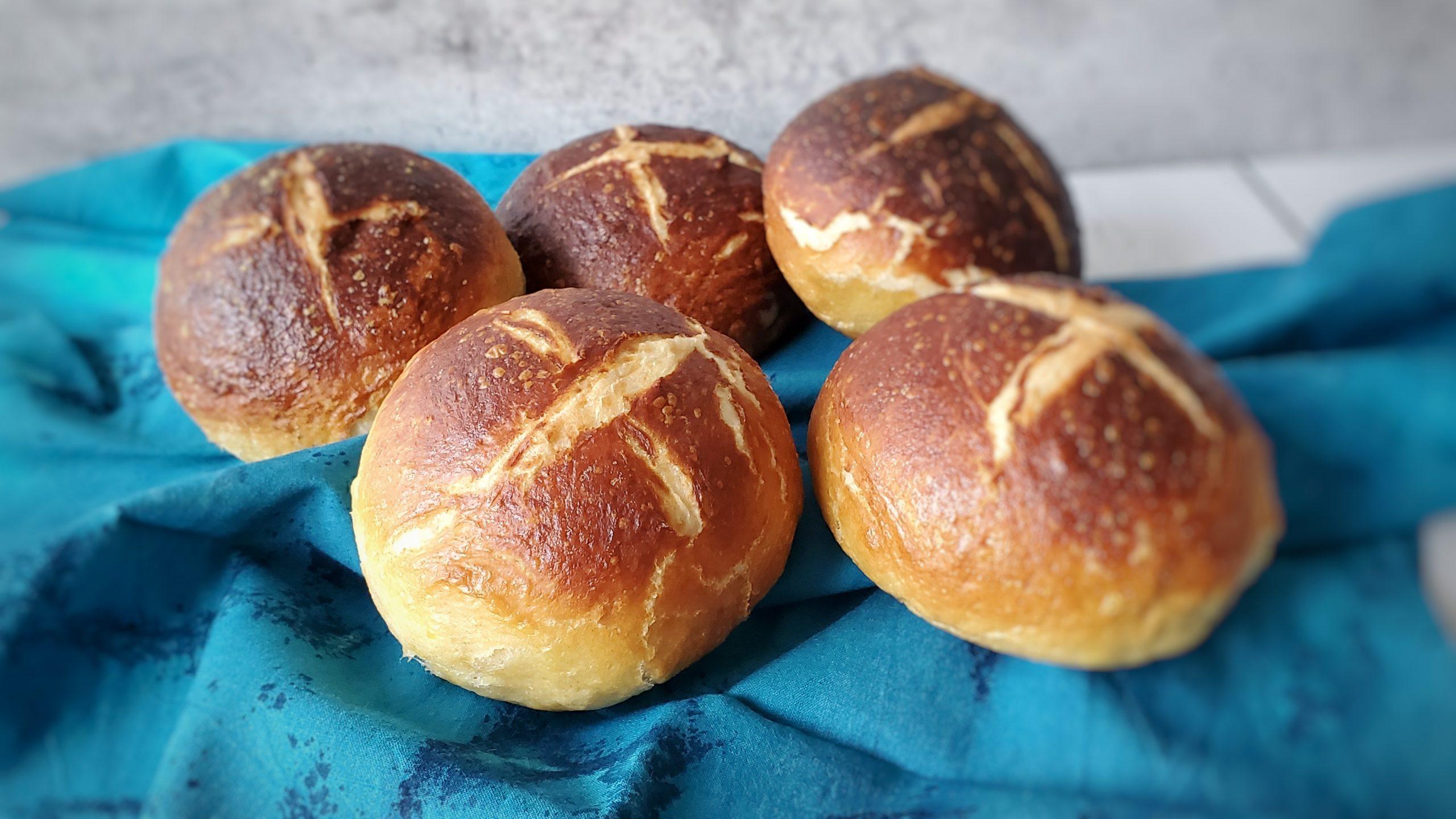 Pão de Pretzel