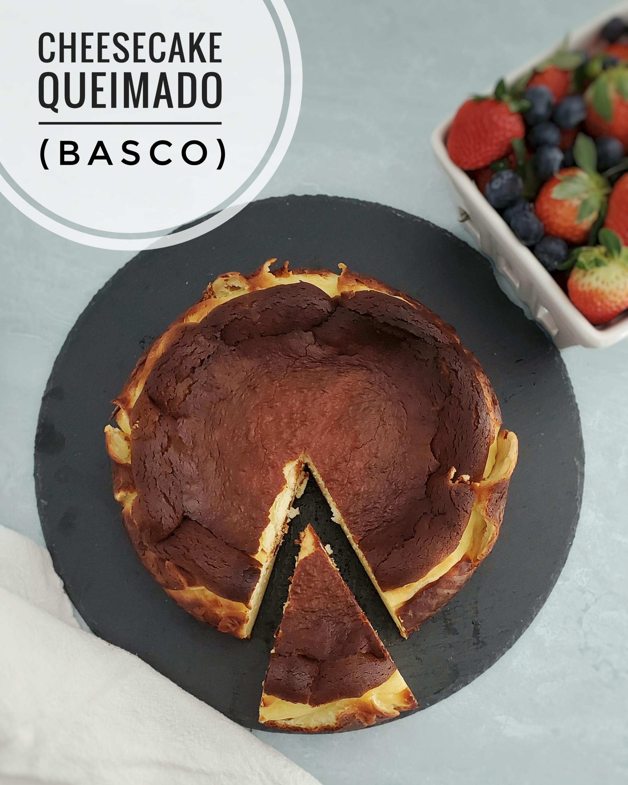 Cheesecake Queimado