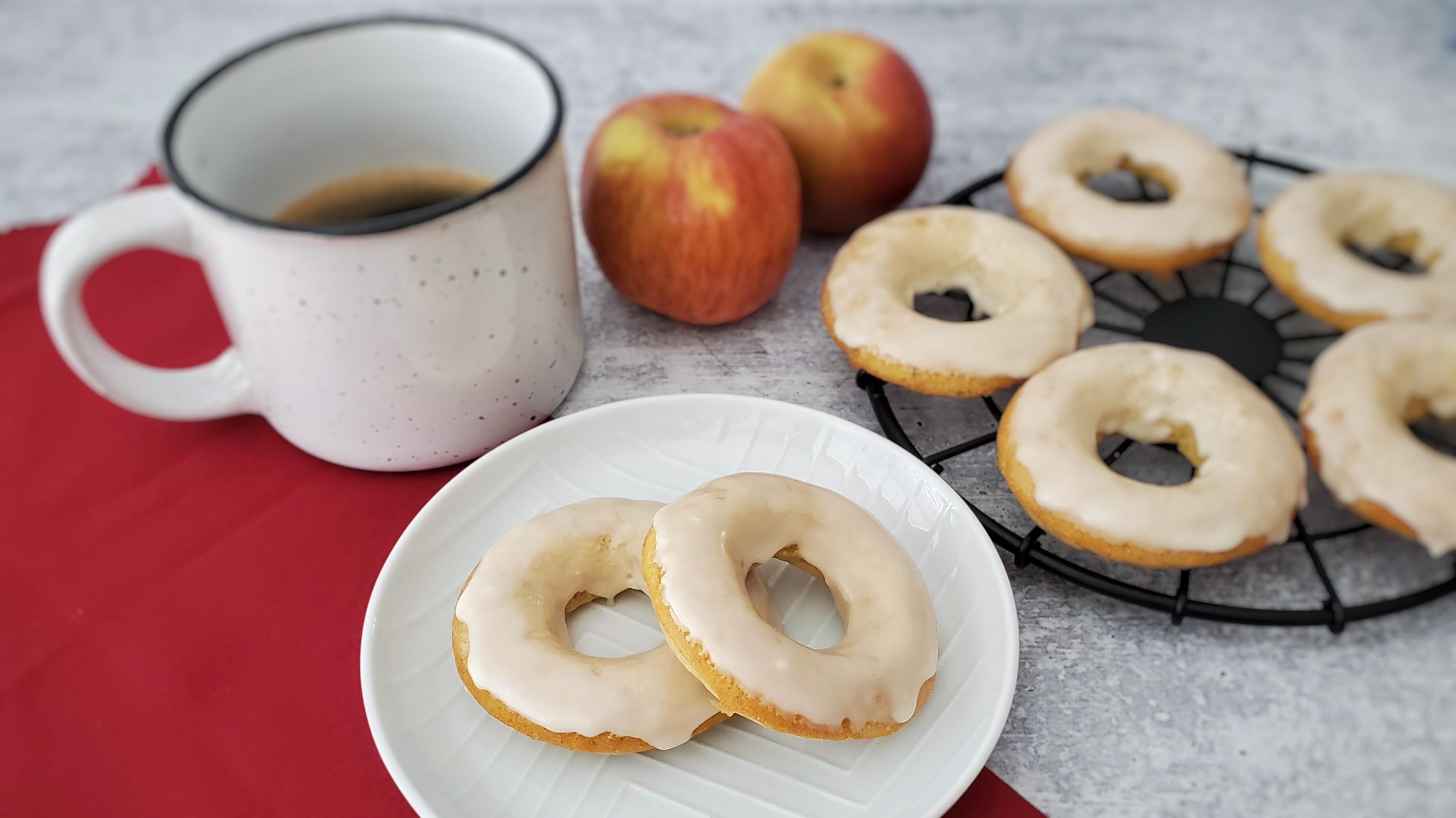 Donuts Assados de Maçã