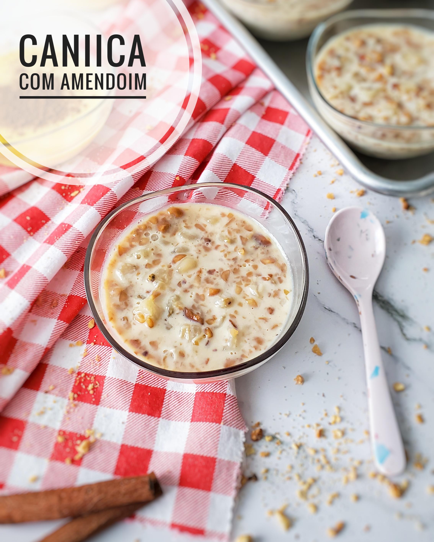 Canjica com Amendoim