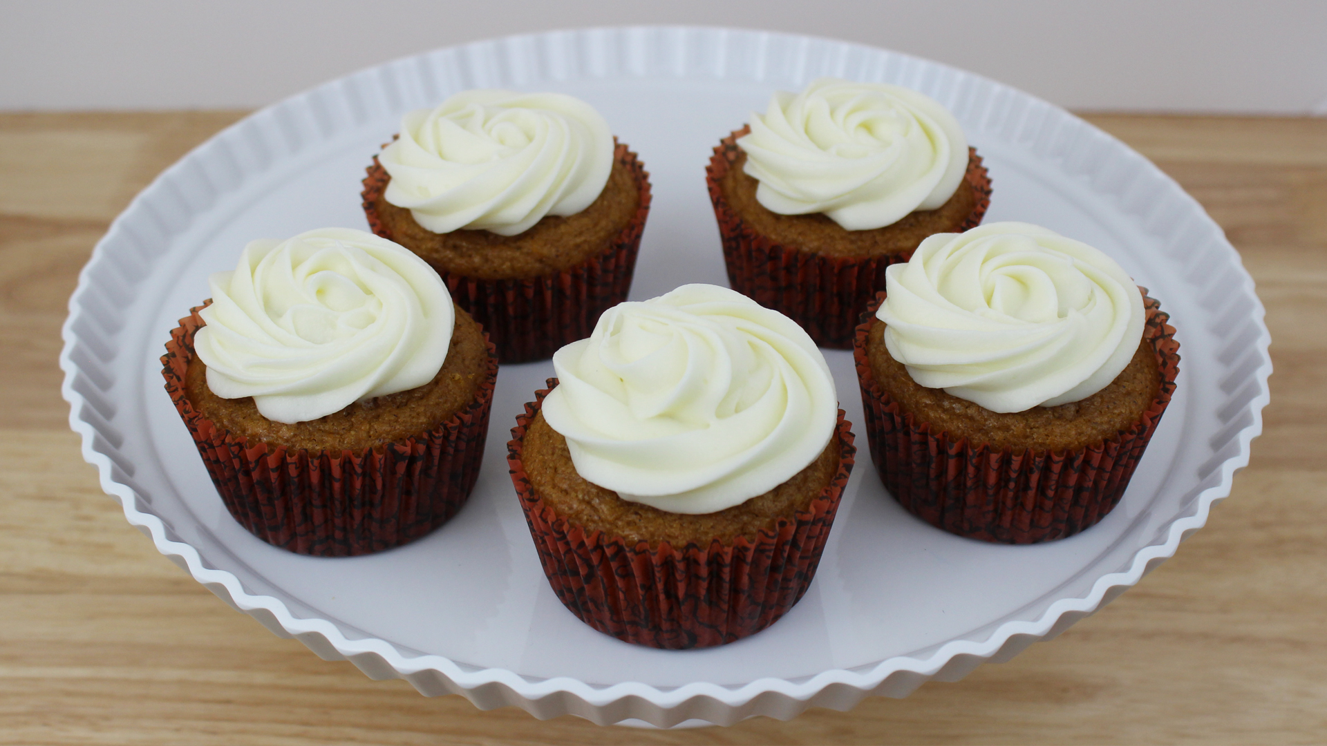 Cupcakes de Abóbora