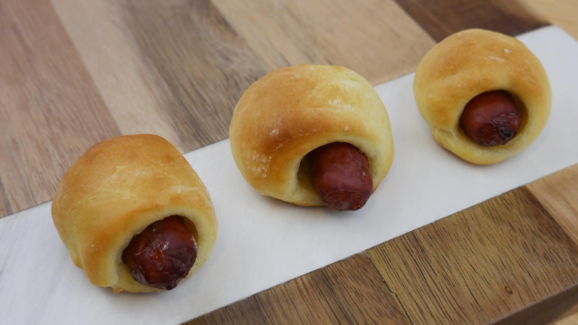 Enroladinho de Salsicha (Pigs in a blanket)