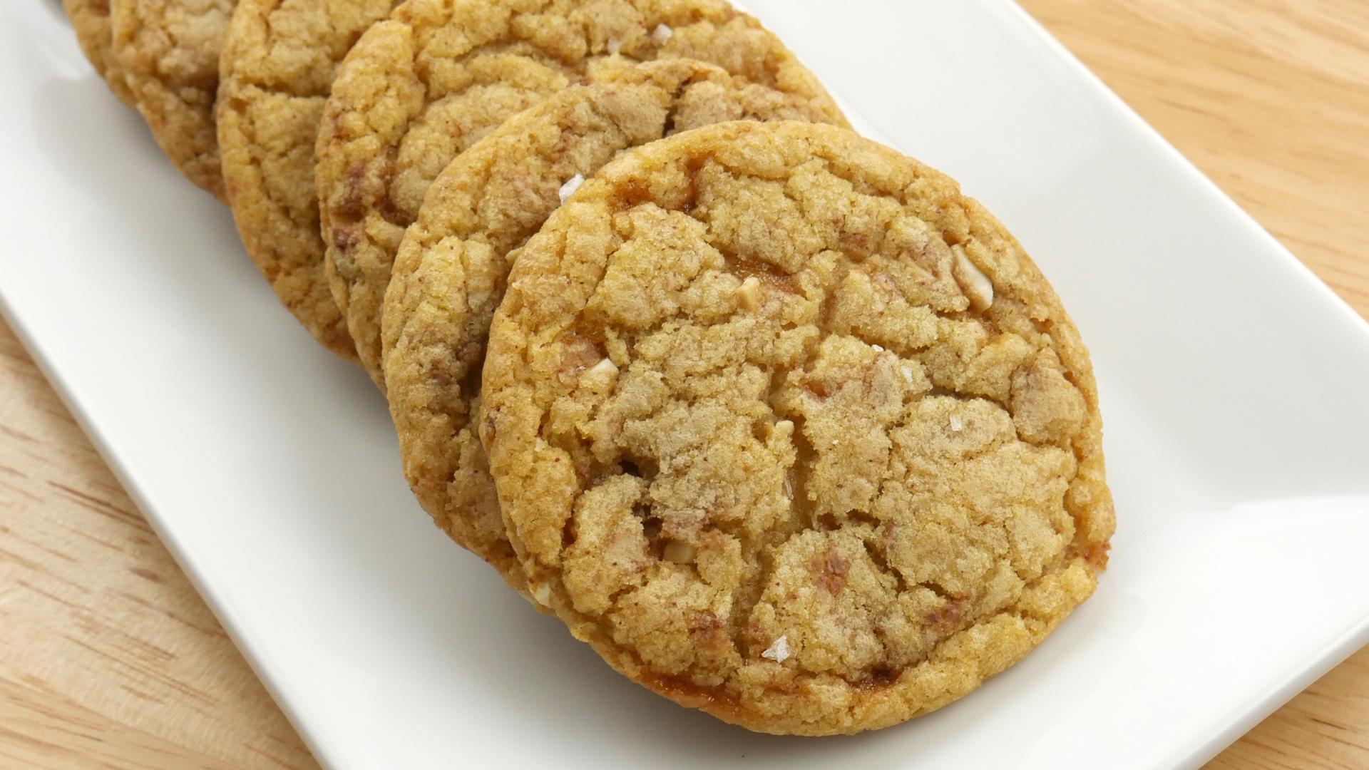 Cookies de Toffee