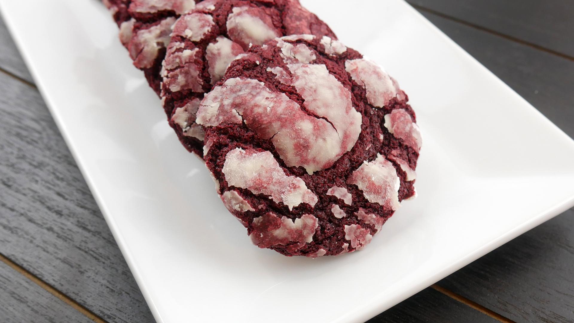 Cookies de Red Velvet