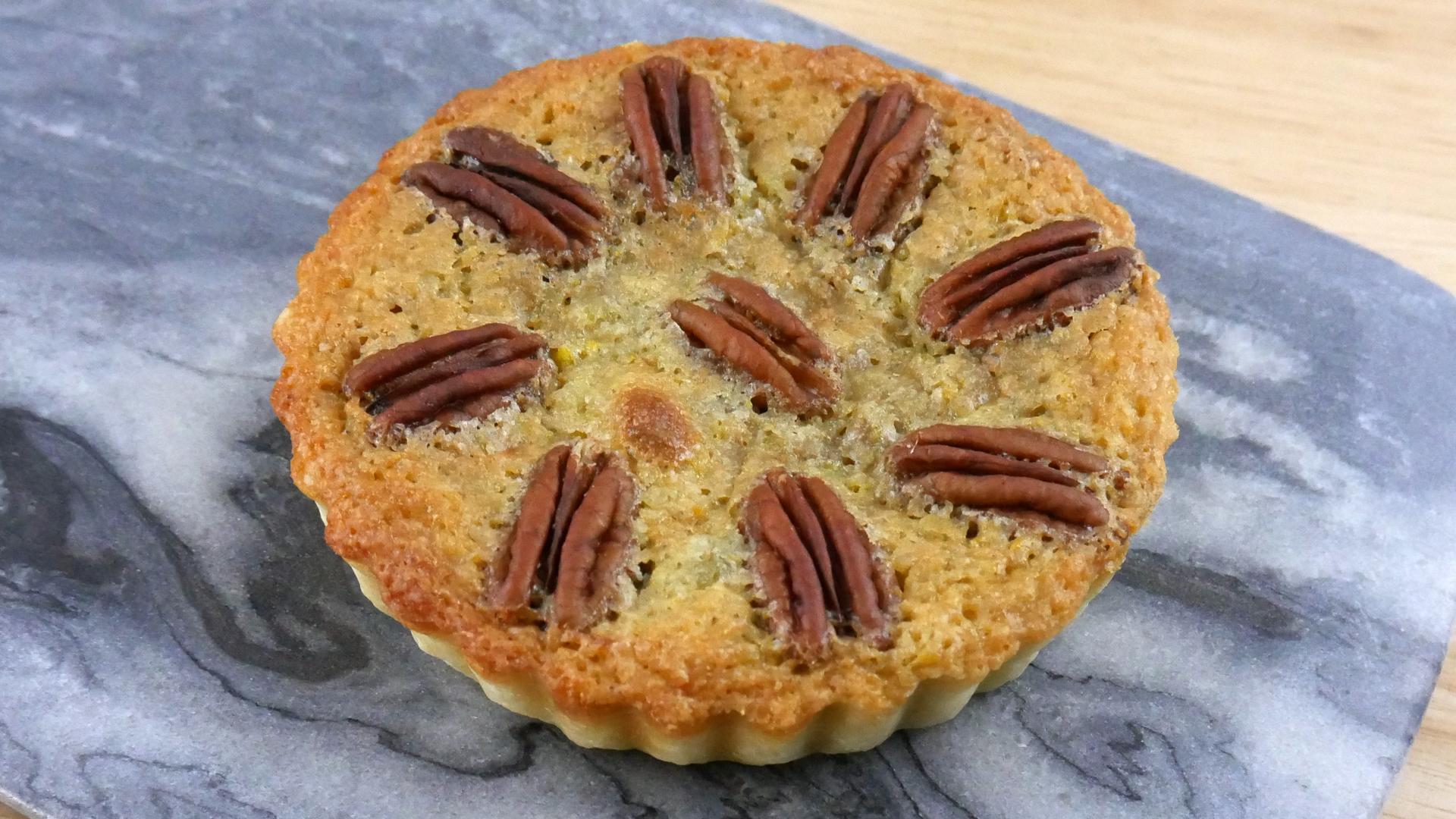 Torta de Noz Pecã (Pecan Pie)