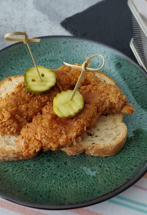 Frango Frito Picante (Nashville Hot Chicken)